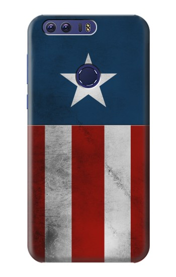 Printed Captain Star Flag of America Huawei Ascend G7 Case