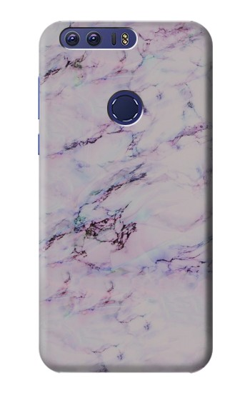 Printed Seamless Pink Marble Huawei Ascend G7 Case