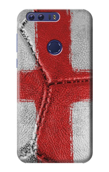 Printed England Flag Vintage Football 2018 Huawei Ascend G7 Case