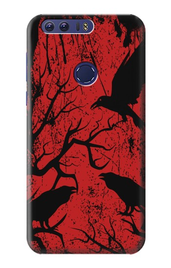 Printed Crow Black Tree Huawei Ascend G7 Case
