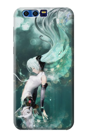 Printed Hatsune Miku Aqua BlackBerry Leap Case
