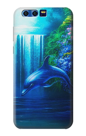 Printed Dolphin BlackBerry Leap Case