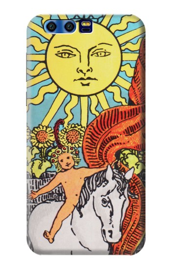Printed Tarot Sun BlackBerry Leap Case