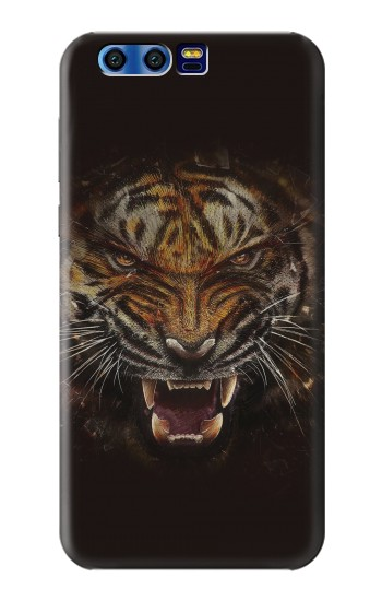 Printed Tiger Face BlackBerry Leap Case