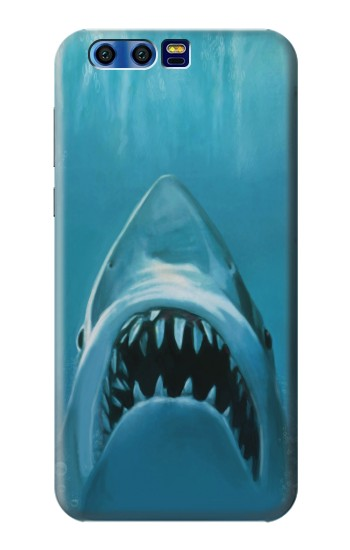 Printed White Shark BlackBerry Leap Case