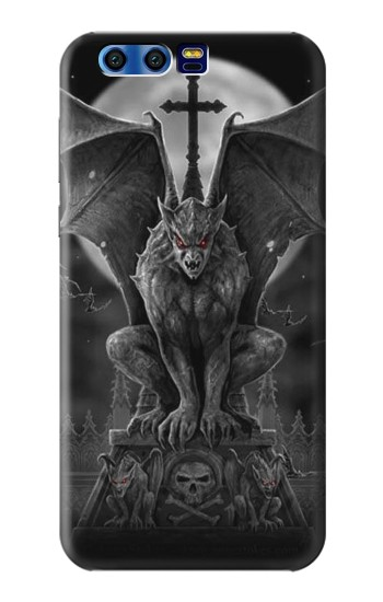 Printed Gargoyle Devil Demon BlackBerry Leap Case