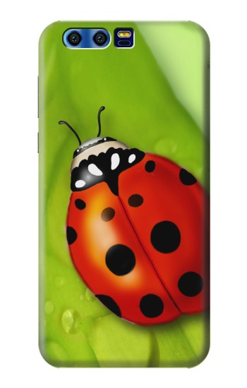 Printed Ladybug BlackBerry Leap Case