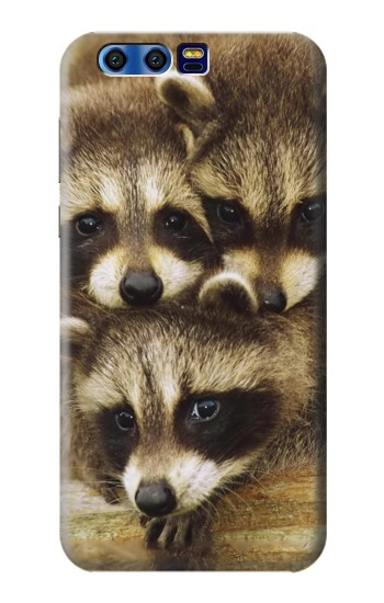 Printed Baby Raccoons BlackBerry Leap Case