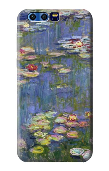 Printed Claude Monet Water Lilies BlackBerry Leap Case