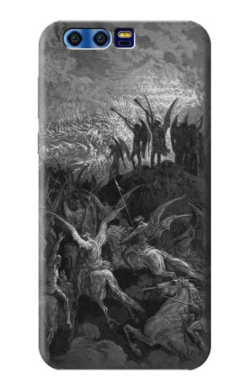 Printed Gustave Dore Paradise Lost BlackBerry Leap Case