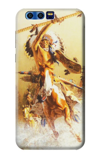 Printed Red Indian Warrior BlackBerry Leap Case