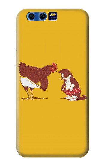 Printed Rooster and Cat Joke BlackBerry Leap Case