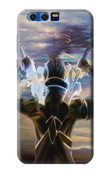 Printed Sword Art Online Kirito BlackBerry Leap Case