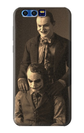 Printed Jokers Together BlackBerry Leap Case
