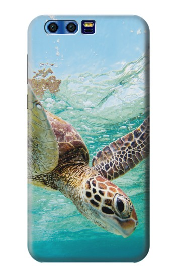 Printed Ocean Sea Turtle BlackBerry Leap Case