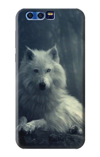Printed White Wolf BlackBerry Leap Case
