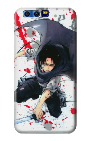 Printed Attack on Titan Rivaille Levi BlackBerry Leap Case