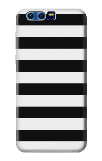 Printed Black and White Striped BlackBerry Leap Case