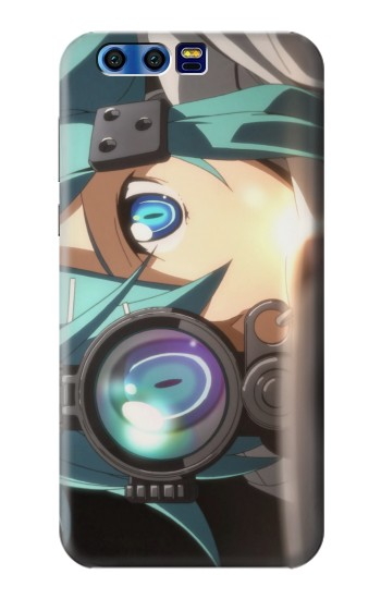 Printed Sword Art Online Gun Gale Online Sniper Sinon Asada Shino BlackBerry Leap Case