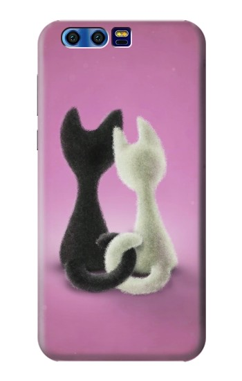 Printed Love Cat BlackBerry Leap Case