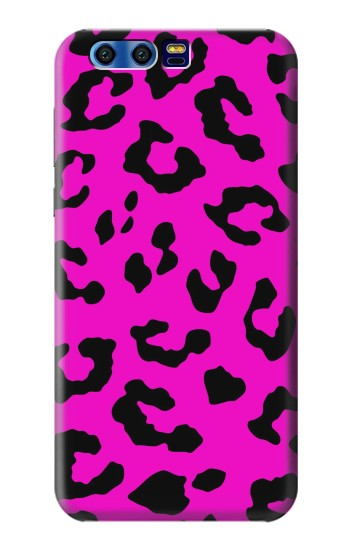 Printed Pink Leopard Pattern BlackBerry Leap Case