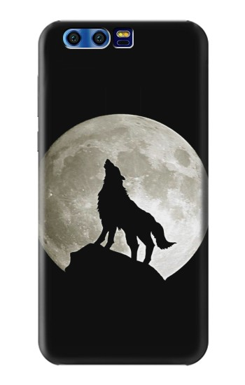 Printed Wolf Howling at The Moon BlackBerry Leap Case