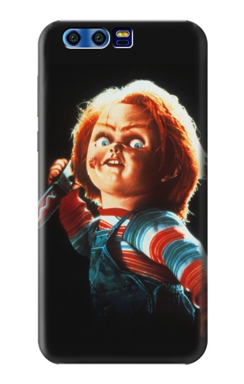 Printed Chucky With Knife BlackBerry Leap Case