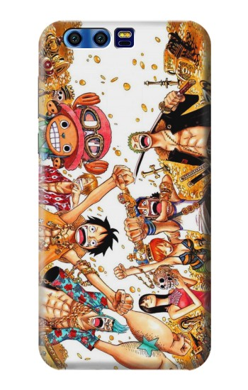 Printed One Piece Straw Hat Luffy Pirate Crew BlackBerry Leap Case