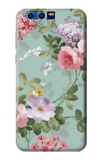 Printed Flower Floral Art Painting BlackBerry Leap Case