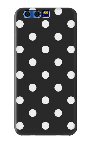 Printed Black Polka Dots BlackBerry Leap Case