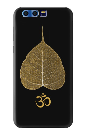 Printed Gold Leaf Buddhist Om Symbol BlackBerry Leap Case
