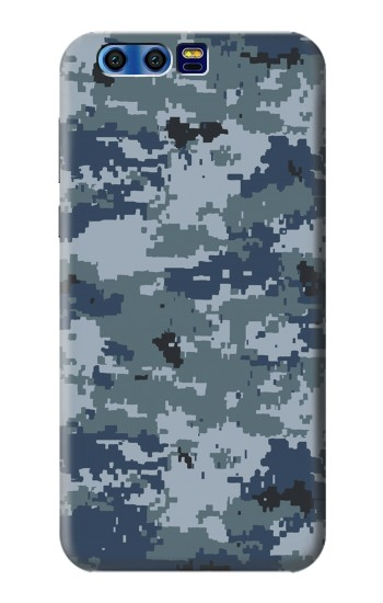 Printed Navy Camo Camouflage Graphic BlackBerry Leap Case