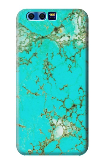 Printed Turquoise Gemstone Texture Graphic Printed BlackBerry Leap Case