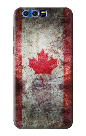 Printed Canada Maple Leaf Flag Texture BlackBerry Leap Case