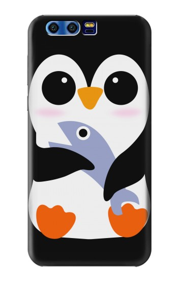 Printed Cute Baby Penguin BlackBerry Leap Case