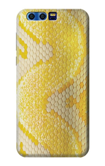Printed Yellow Snake Skin BlackBerry Leap Case