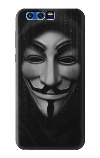 Printed Matrix Anonymous Mask Hacker BlackBerry Leap Case