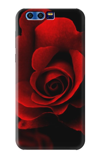 Printed Red Rose BlackBerry Leap Case