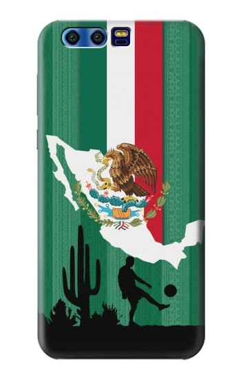 Printed Mexico Football Flag BlackBerry Leap Case