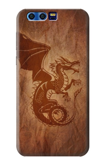 Printed Red Dragon Tattoo BlackBerry Leap Case