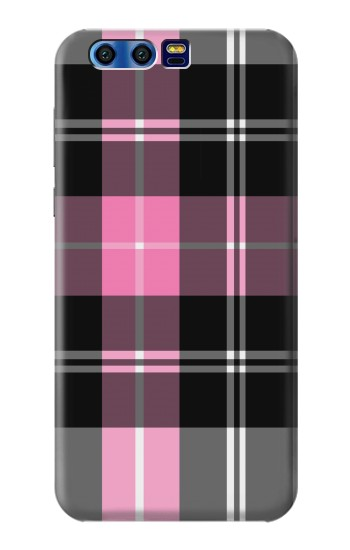 Printed Pink Plaid Pattern BlackBerry Leap Case