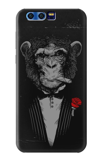 Printed Funny Monkey God Father BlackBerry Leap Case