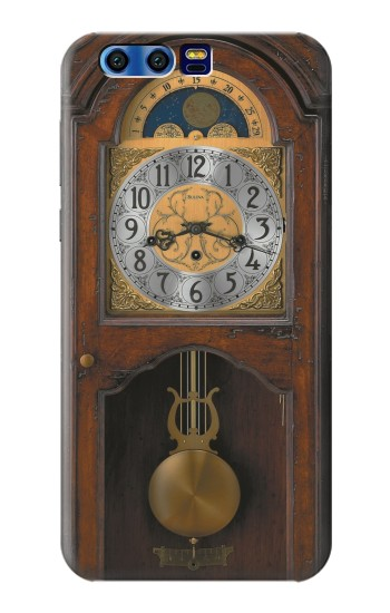 Printed Grandfather Clock Antique Wall Clock BlackBerry Leap Case