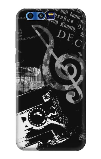 Printed Music Cassette Note BlackBerry Leap Case