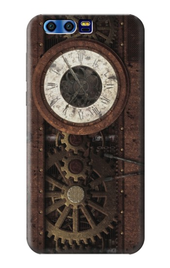 Printed Steampunk Clock Gears BlackBerry Leap Case