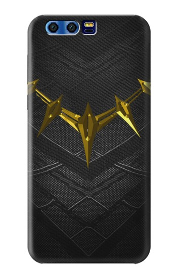 Printed Black Panther Inspired Costume Gold Necklace BlackBerry Leap Case