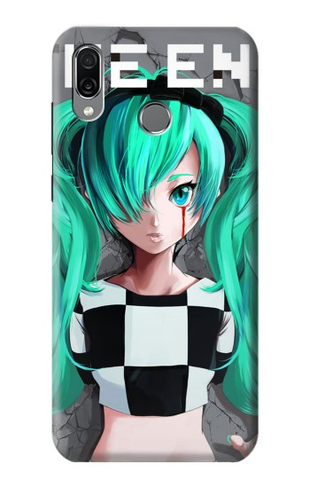 Printed hatsune miku The End Huawei Honor Play Case