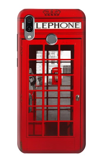 Printed Classic British Red Telephone Box Huawei Honor Play Case