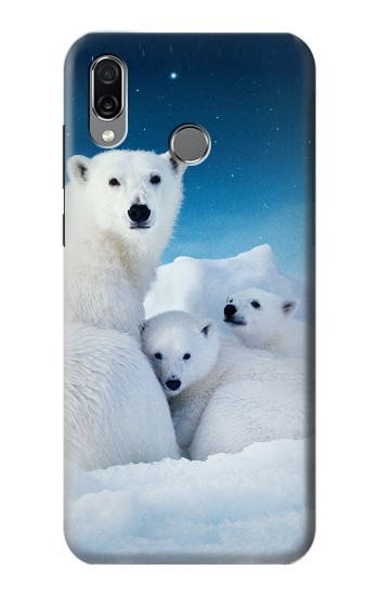 Printed Polar Bear Family Arctic Huawei Honor Play Case