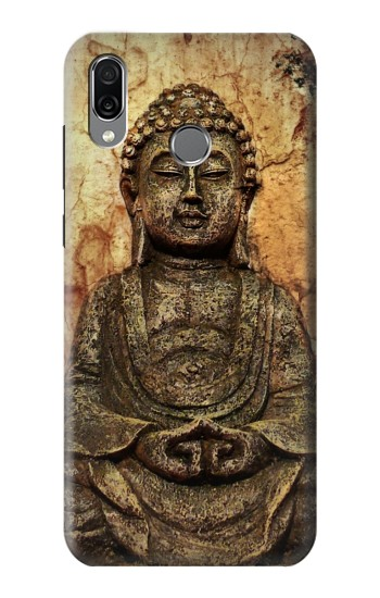 Printed Buddha Rock Carving Huawei Honor Play Case